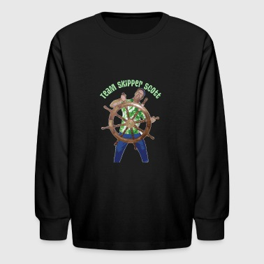 Skipper Scott Helm - Kids' Long Sleeve T-Shirt