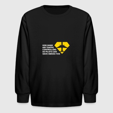 Air traffic Controllers - Kids' Long Sleeve T-Shirt