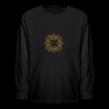 Shield Maiden Logo - Kids' Long Sleeve T-Shirt