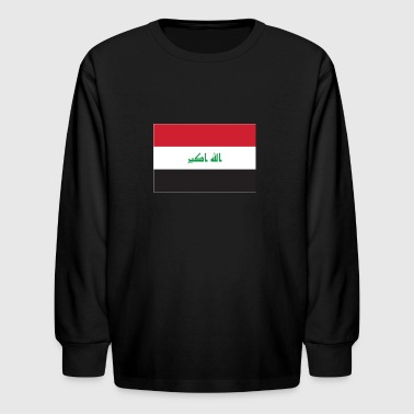 Iraq flag - Kids' Long Sleeve T-Shirt