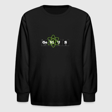 Periodic Elements: GeNiUS - Kids' Long Sleeve T-Shirt