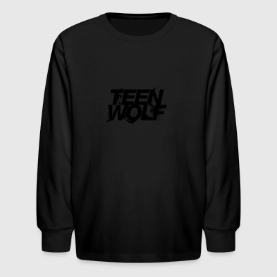 teen wolf - Kids' Long Sleeve T-Shirt