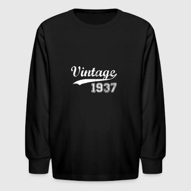 1937 - Kids' Long Sleeve T-Shirt