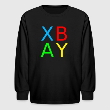 Gamer Buttons - Kids' Long Sleeve T-Shirt