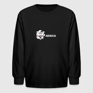 COW ABUNGA - Kids' Long Sleeve T-Shirt