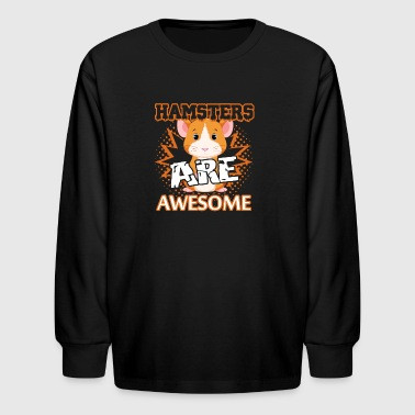 Hamster Shirts - Kids' Long Sleeve T-Shirt