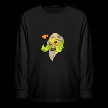 orisa overwatch - Kids' Long Sleeve T-Shirt
