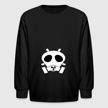 mask - Kids' Long Sleeve T-Shirt