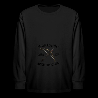 anor londo - Kids' Long Sleeve T-Shirt