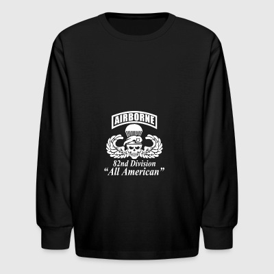 US Army 82nd Airborne - Kids' Long Sleeve T-Shirt