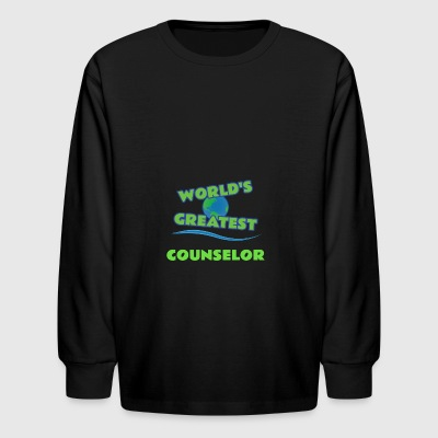 COUNSELOR - Kids' Long Sleeve T-Shirt