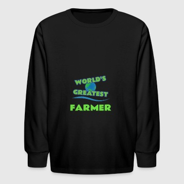 FARMER - Kids' Long Sleeve T-Shirt