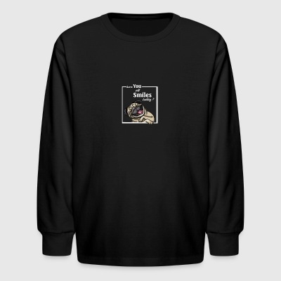 Pug - Kids' Long Sleeve T-Shirt