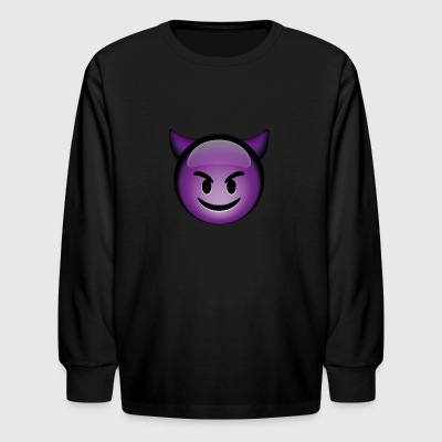 Horned Devil - Kids' Long Sleeve T-Shirt