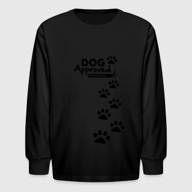 RescueDogs101 Dog Approved - Kids' Long Sleeve T-Shirt