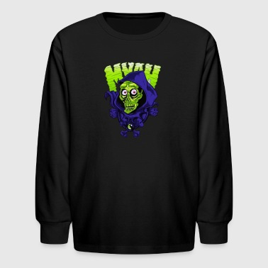 Zombie Myah - Kids' Long Sleeve T-Shirt