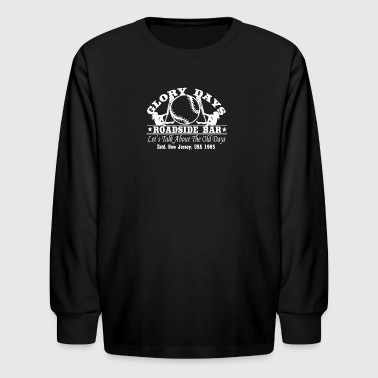 Bruce Springsteen Inspired - Kids' Long Sleeve T-Shirt