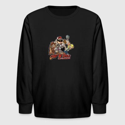 Chip N Dale Last Crusaders - Kids' Long Sleeve T-Shirt