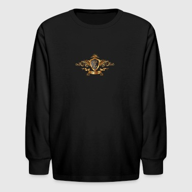 Prestige Luxury Nathalie Veys Group Logo - Kids' Long Sleeve T-Shirt