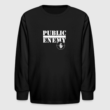 Public Enemy - Kids' Long Sleeve T-Shirt