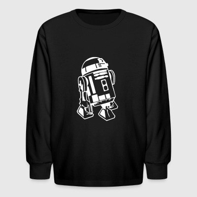 R2 D2 Retro Star Wars Sci Fi Lucas - Kids' Long Sleeve T-Shirt