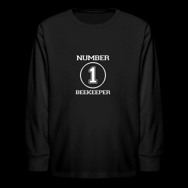 Number 1 Beekeeper - Kids' Long Sleeve T-Shirt