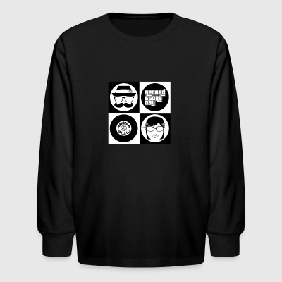 Hipsters Record Store Day Submission - Kids' Long Sleeve T-Shirt