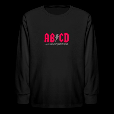 Abcd Parody - Kids' Long Sleeve T-Shirt