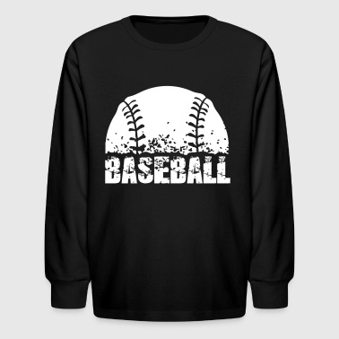 Baseball - Kids' Long Sleeve T-Shirt