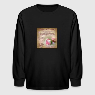 Tuesday - Kids' Long Sleeve T-Shirt