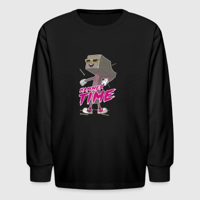 Hammer Time - Kids' Long Sleeve T-Shirt