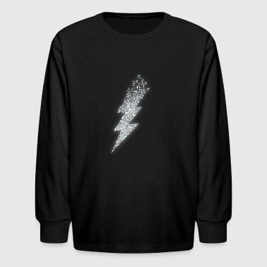Electro Music - Kids' Long Sleeve T-Shirt