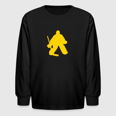 hockey goalie - Kids' Long Sleeve T-Shirt