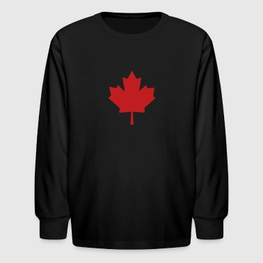 Maple Leaf - Kids' Long Sleeve T-Shirt