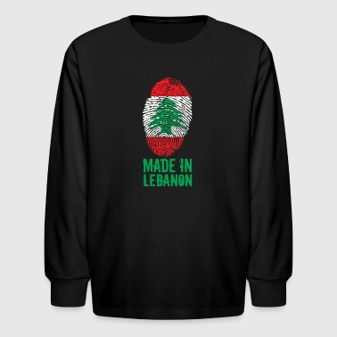 Made in Lebanon / اللبنانية - Kids' Long Sleeve T-Shirt