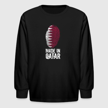 Made In Qatar / قطر - Kids' Long Sleeve T-Shirt