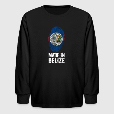 Made In Belize - Kids' Long Sleeve T-Shirt