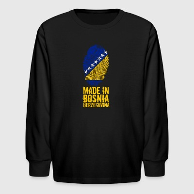 Made in Bosnia and Herzegovina - Kids' Long Sleeve T-Shirt