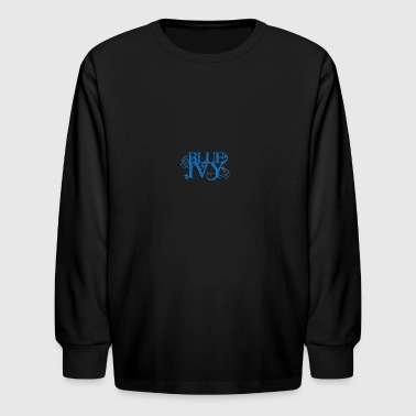 Blue Ivy Logo - Kids' Long Sleeve T-Shirt