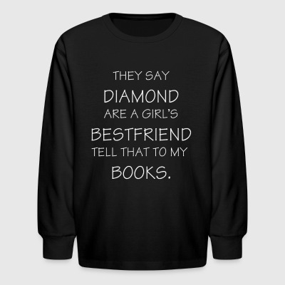 Book Lover t Shirt - Kids' Long Sleeve T-Shirt