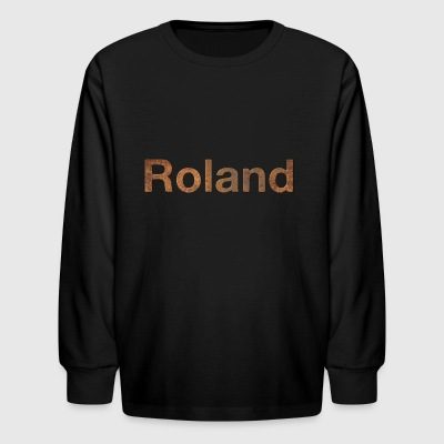 rusty roland - Kids' Long Sleeve T-Shirt