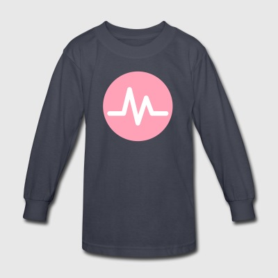 musical ly - Kids' Long Sleeve T-Shirt