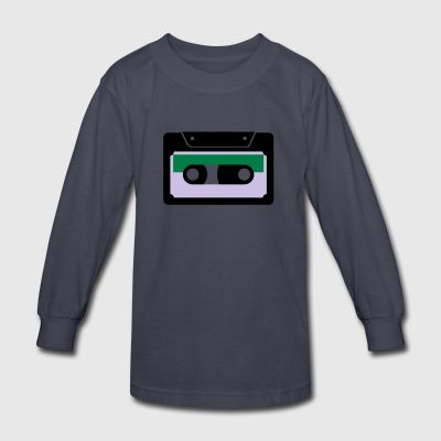 CASSETTE - Kids' Long Sleeve T-Shirt