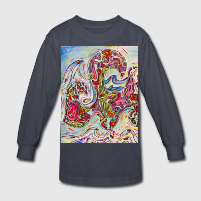 Wave Toss - Kids' Long Sleeve T-Shirt
