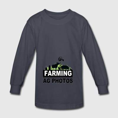 Farming Ag Photos - Kids' Long Sleeve T-Shirt
