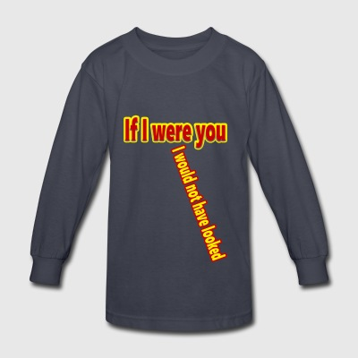 Look - Kids' Long Sleeve T-Shirt