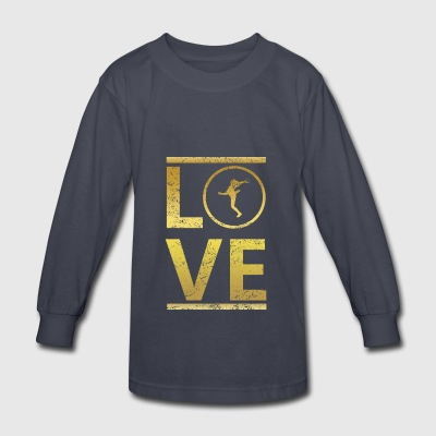love calling profi king meister frauen handball ha - Kids' Long Sleeve T-Shirt