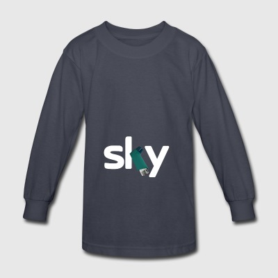DOPE TEAM FROOME SKY SARCASTIC - Kids' Long Sleeve T-Shirt