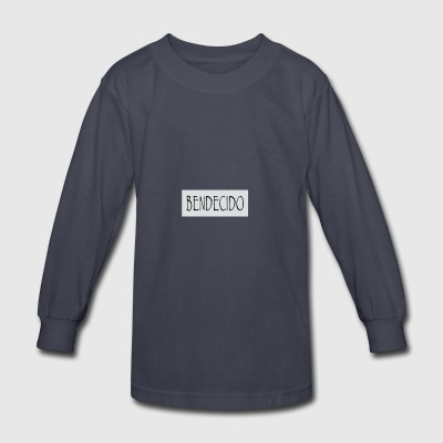 SPIRITUAL BENDECIDO - Kids' Long Sleeve T-Shirt