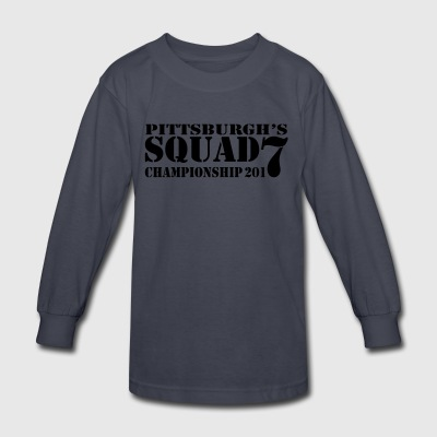 Pittsburgh_Squad - Kids' Long Sleeve T-Shirt